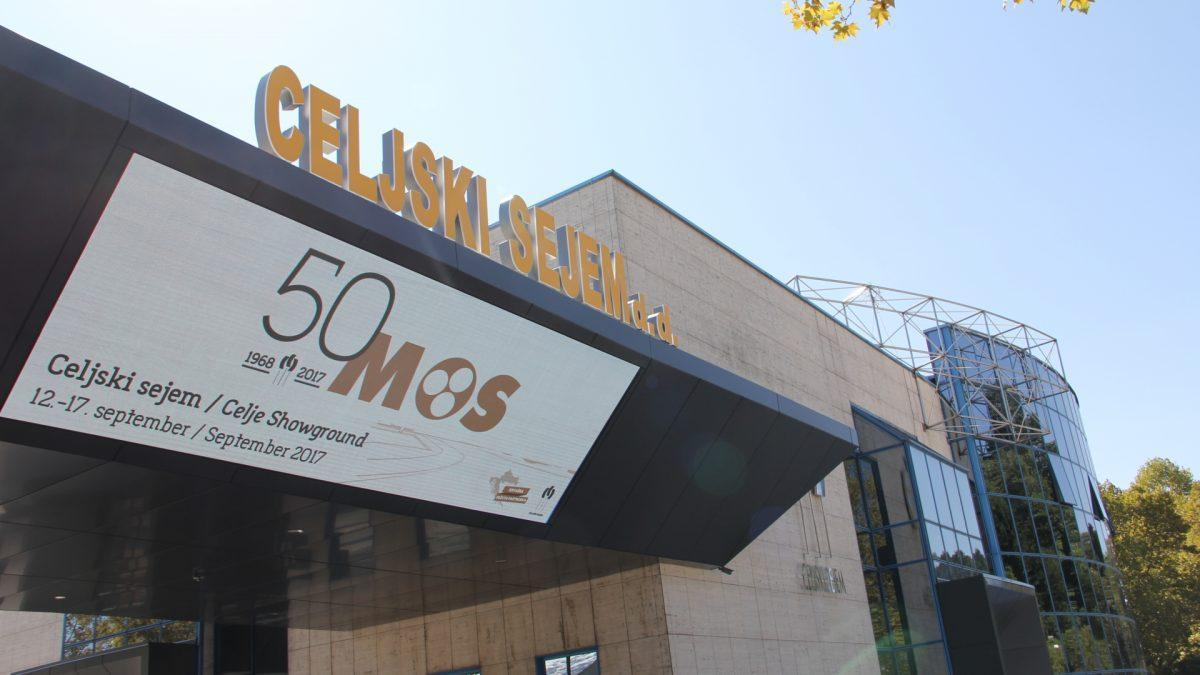 50th MOS in Celje from 12th to 17th September – The largest regional